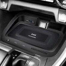 Chargeur de téléphone sans fil QI 10W   Pour voiture, plaque de chargement 2019 2020, support sans fil pour téléphone