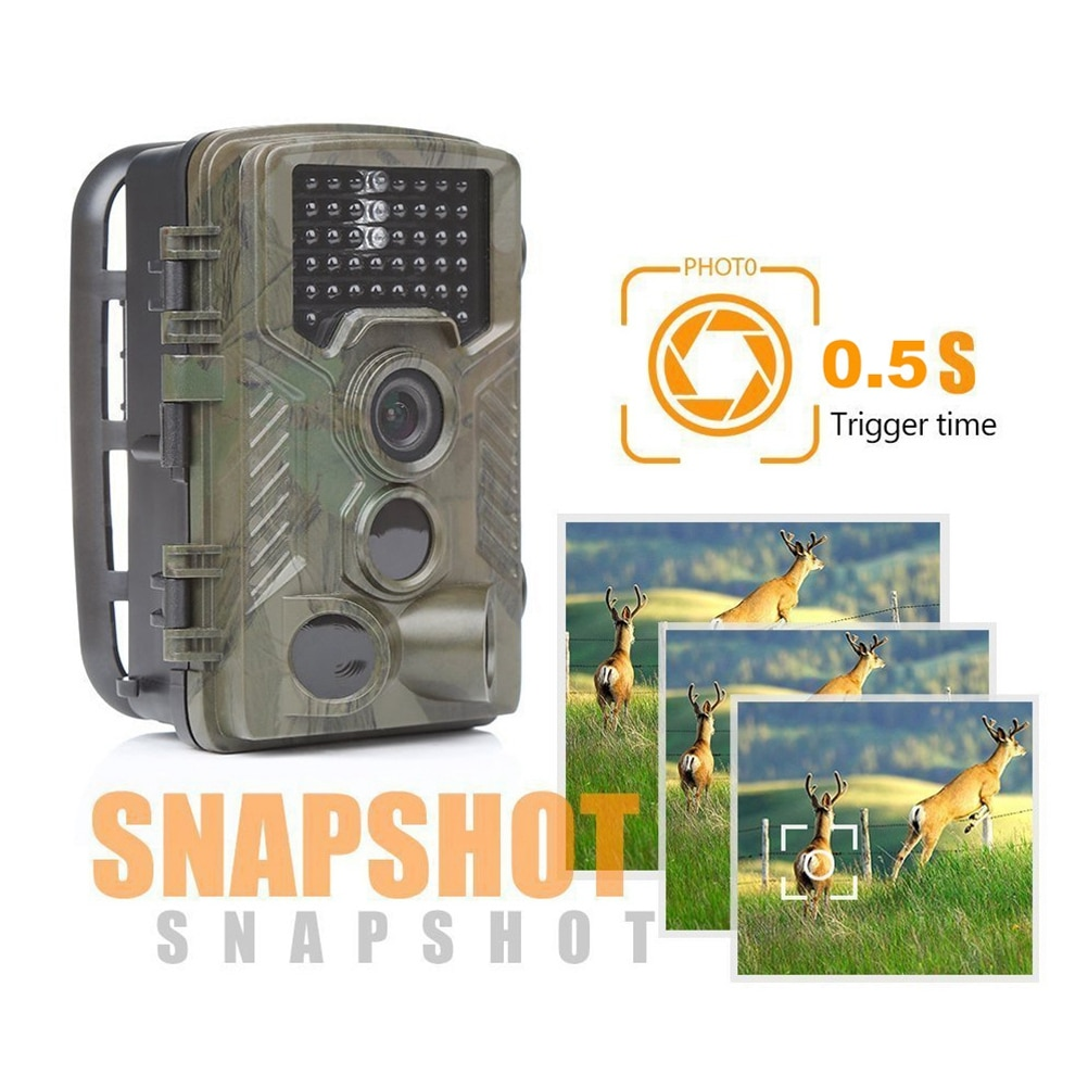HC-800A 42 IR LEDs IHunting Cámara Wildcamera Wild vigilancia ForNight versión Wildlife Scouting cámaras foto trampas pista