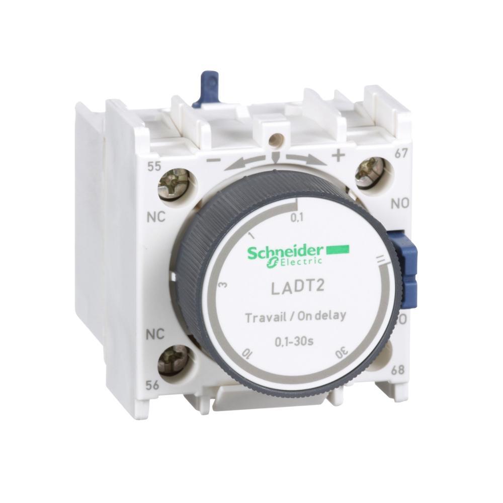 LADT2 LA-DT2 TeSys d-time delay bloque de contacto auxiliar-1 NO + 1 NC tornillo abrazadera terminales