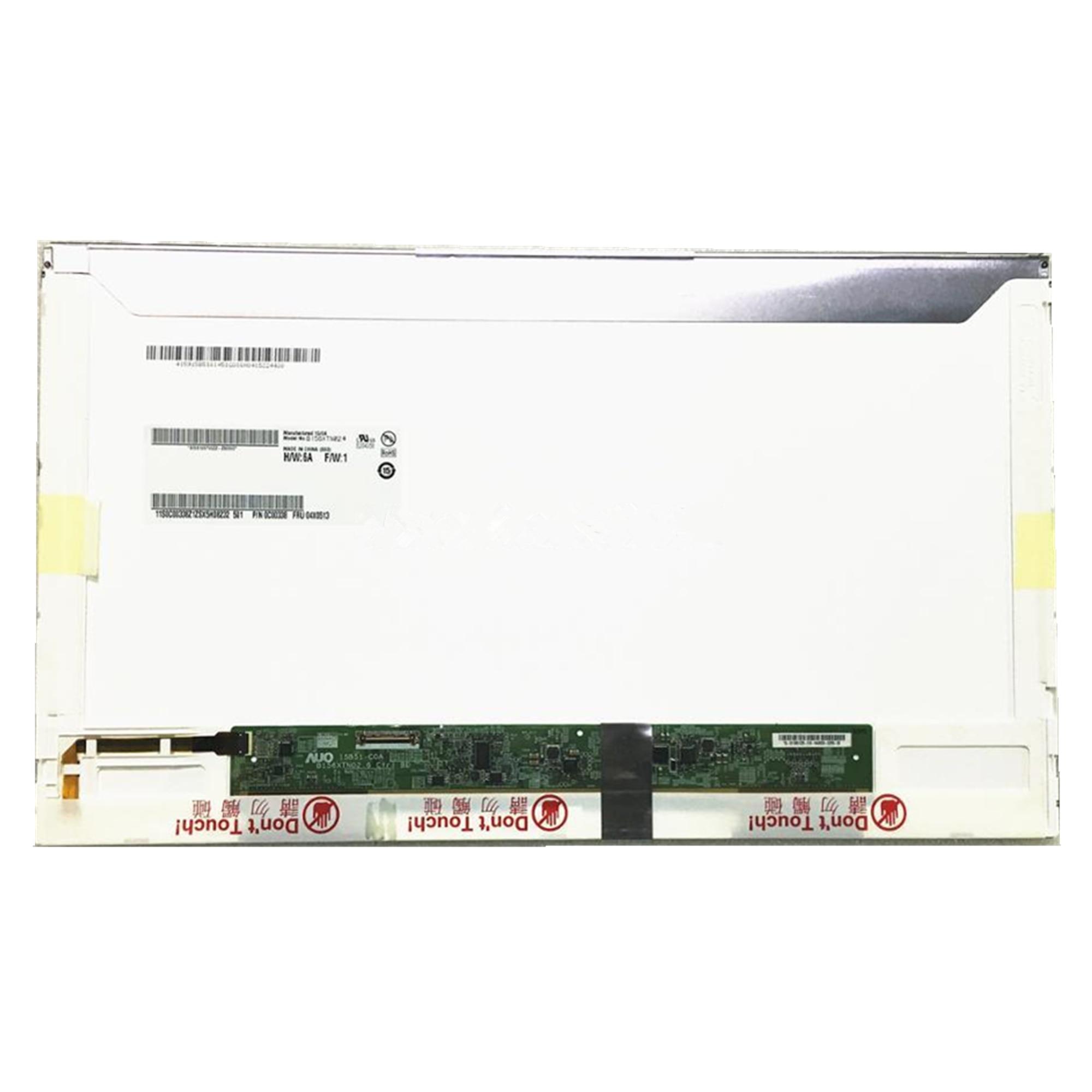 شحن مجاني B156XTN02.6 B156XTN01.0 CLAA156WA12 LP156WH4 TPA1 شاشة لاب توب LCD 1366*768 EDP 30 دبابيس