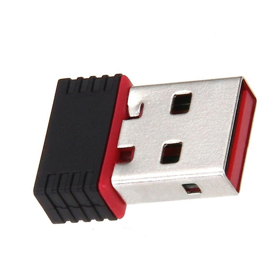 USB WIFI Wireless Adapter Mini 150Mbps Wireless Network Card Wireless Transmission Adapter For Laptop Desktop Wifi Receiver