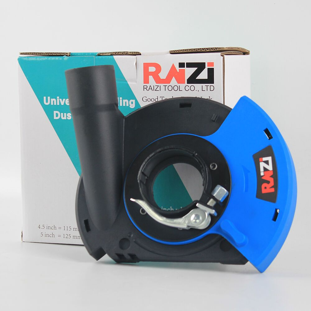 Raizi 5 Inch/125 mm Angle Grinder Dust Shroud Cover Tools For Dry Surface Grinding Universal Grinder Dust Collection Cover Kit enlarge
