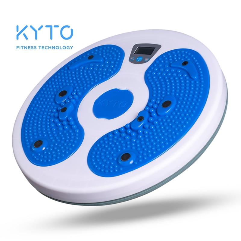 KYTO-أداة تشذيب رقمية للخصر ، أداة تنحيف الجسم ، دواسة على شكل قدم ، لوح توازن