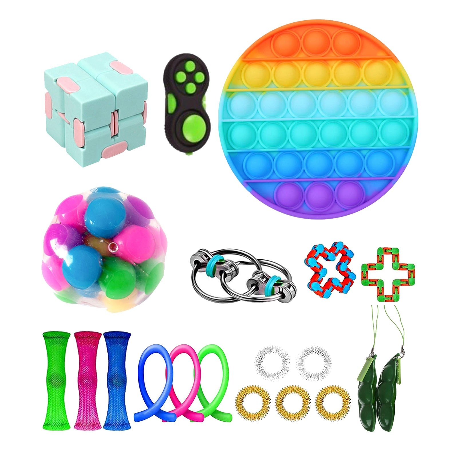 TOP Fidget Toys Pack Anti Stress Toy Set Stress Relief Gift for Adults Girl Children Sensory Antistress Relief Figet Toys Box enlarge