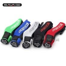 Protecteur de chaussures de bottes de moto   Couvercle de chaussette à pédale de vitesses, pour KAWASAKI Z250 Z300 Z750 Z800 Z1000 Z1000SX ER4N ER6N ER6F