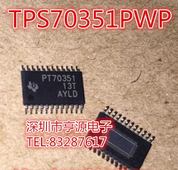 100% novo & original TPS70351 TPS70351PWP TPS70351PWPR PT70351
