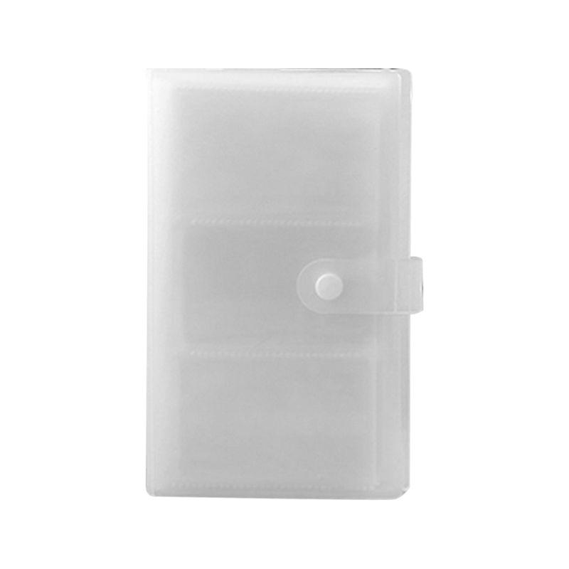 240 entalhes transparente pp capa cartão de visita livro grande capacidade id suportes bilhete coleção clipe perda prevenção