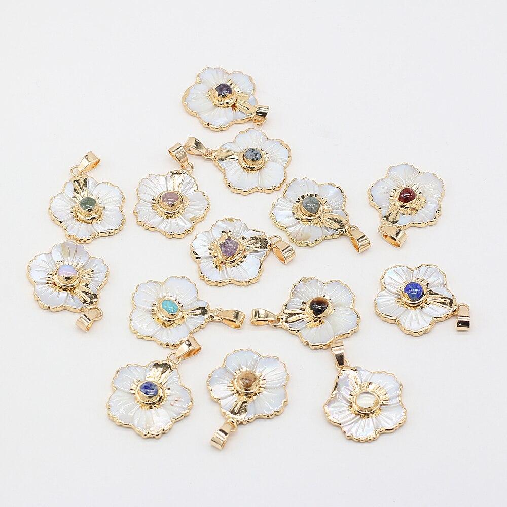 1-шт-белая-ракушка-кулон-для-сережек-и-ожерелий-25-х25-мм