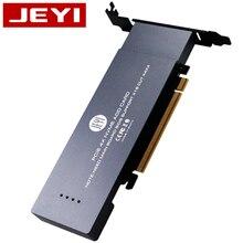 JEYI iHyper-Pro m.2 X16 TO 4X NVME  PCIE3.0 GEN3 X16 TO 4*NVME RAID CARD PCI-E VROC CARD RAID M.2X16 M2X16 4XX4 NVME*4 RAID