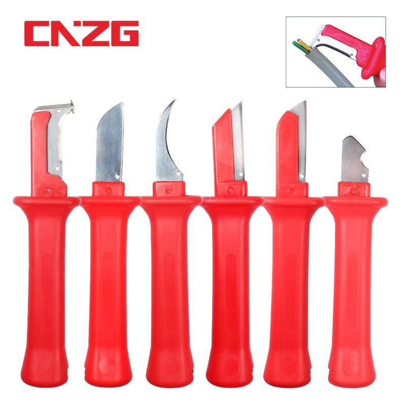 Инструмент для зачистки ножей, мини-инструмент для зачистки проводов, 6 видов ручных инструментов