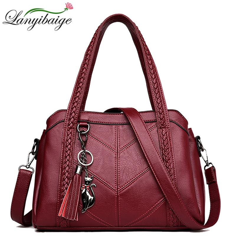 Luxury Brand Handbags Women Bag Fashion Crossbody Bags for Women 2020 New Casual Ladies Leather Shoulder Bags sac a main femme