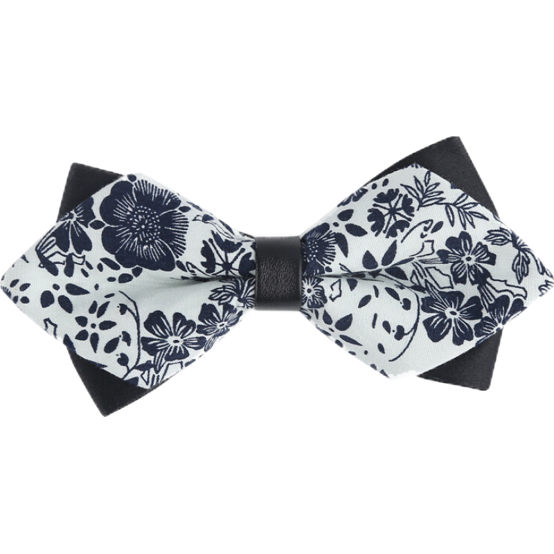 2020 New Arrival Fashion Print Bow Ties For Men Groom Wedding Anniversary Butterfly Tie with Gift Box