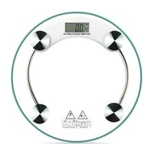 Pesage électronique numérique domestique   180Kg 4mm, poids corporel rond Fitness, échelle en verre, tendance meilleure vente sur le marché