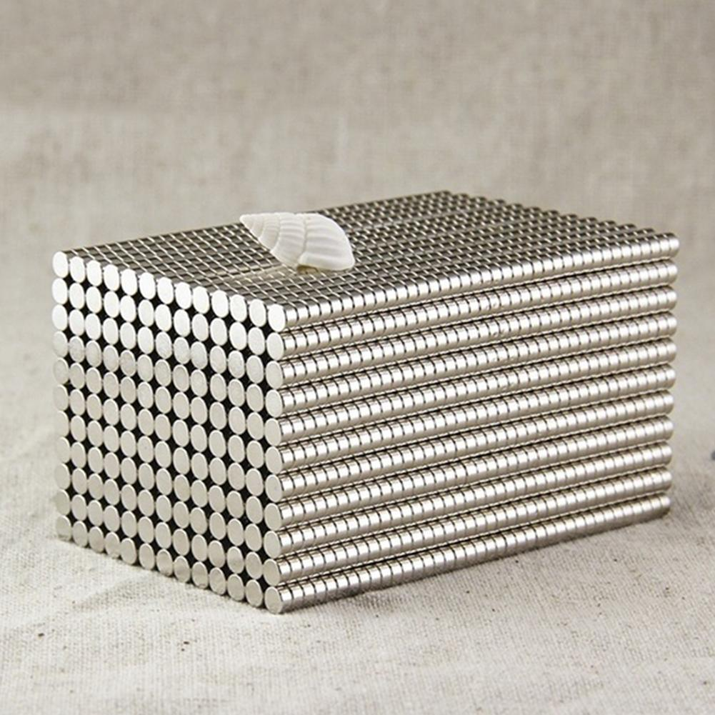 50Pcs 4x2mm Round Shape Rare Earth Neodymium Super Strong Magnetic NdFeB Magnet Neodymium Magnets Rare Earth Disc Fridge Crafts недорого