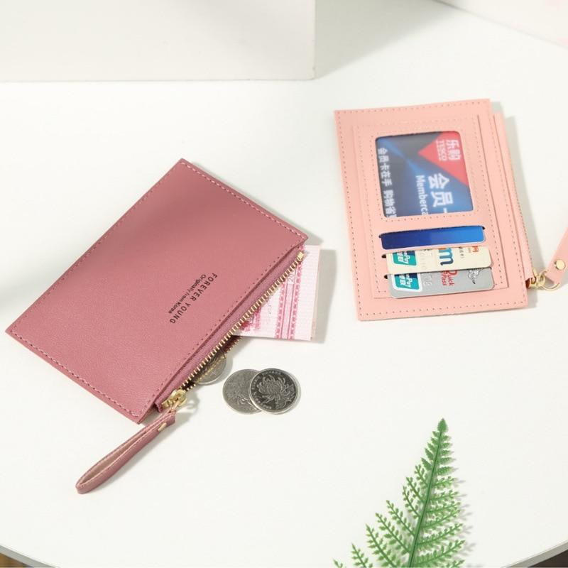Модные кошельки, кредитницы, сумка для удостоверения личности, органайзер унисекс для билеты паспорт, женский кошелек, кошелек для мелочи, д...