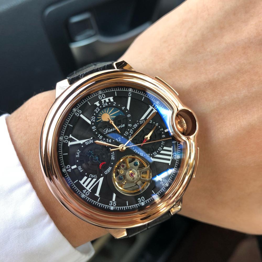 Daystar watch men's mechanical watch men's hollow automatic waterproof fashion