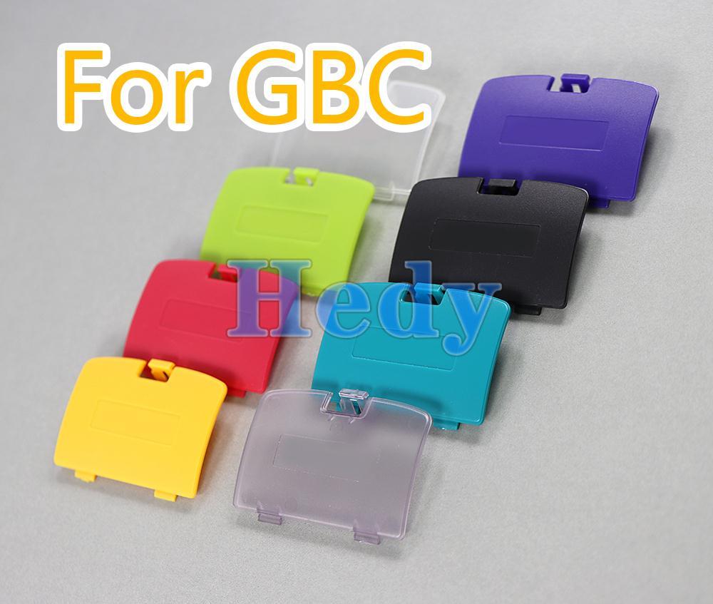 100 قطعة ل GBC غطاء البطارية ل Gameboy مقدما غطاء البطارية استبدال ل نينتندو لعبة الصبي اللون GBC غطاء البطارية الباب