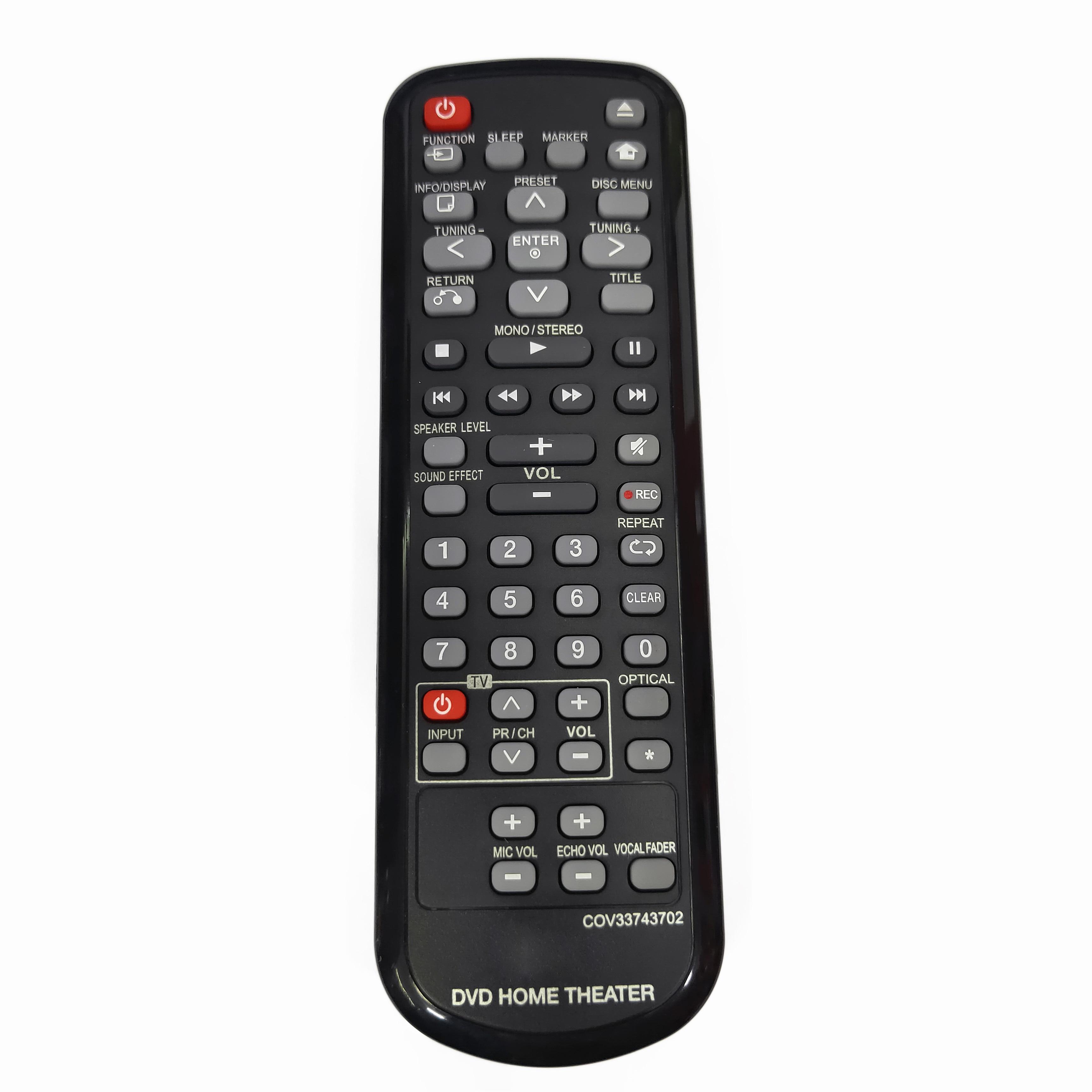 NEW Original COV33743702 for LG DVD HOME THEATER Remote control Fernbedienung