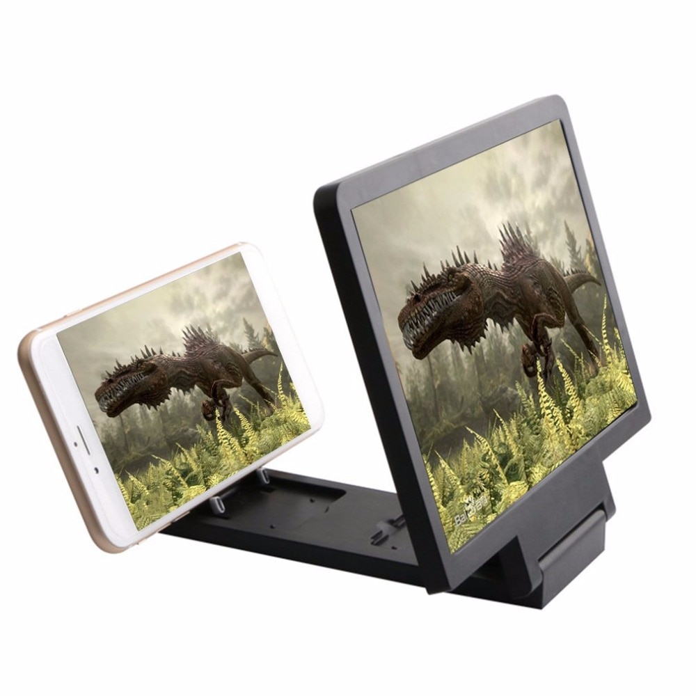 2020 new Screen Magnif 3D Movie Amplifier 3X Zoom Enlarged Phone Screen  Video Amplifier Radiation Eye Treasure Magnifier