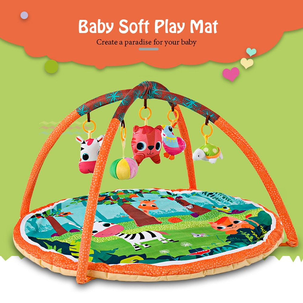 children s mat baby play mat kids rug gym fitness frame activity fence toys Baby Play Mat 90*90*50cm Infantil Kids Rug Playmat Baby Gym Fitness Frame Activity Mat Toys Early Education Crawling Game Mat