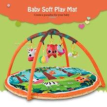 Baby Spielen Matte 90*90*50cm Infantil Kinder Teppich Playmat Baby Gym Fitness Rahmen Aktivität Matte Spielzeug frühen Bildung Krabbeln Spiel Matte