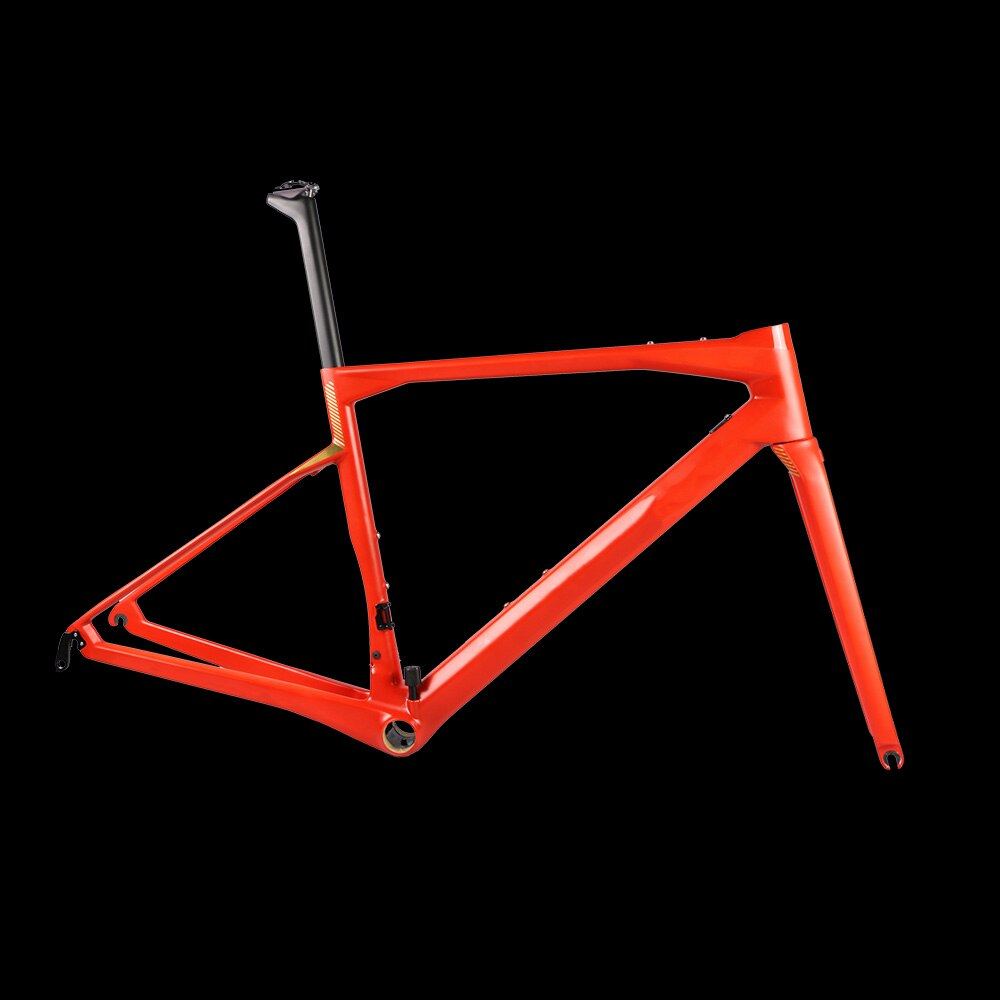 Cuadro de bicicleta de carretera de carbón 2020 T1000, máquina de Velocidad X horquilla de cuadro de bicicleta, tija de sillín con manillar integrado