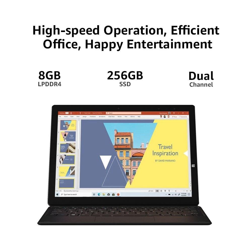 CHUWI UBook X 12inch Tablet Windows 10 Intel Celeron N4100 Quad Core 2160x1440 IPS 8GB RAM 256GB ROM Tablet PC Dual Wifi Type-C