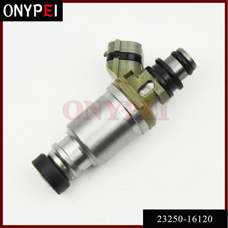 Boquilla de inyector de combustible 23250-16120 23209-16120 para Toyota Celica Corolla 1990-1993 1.6L Sprinter AE95 2325016120 2320916120