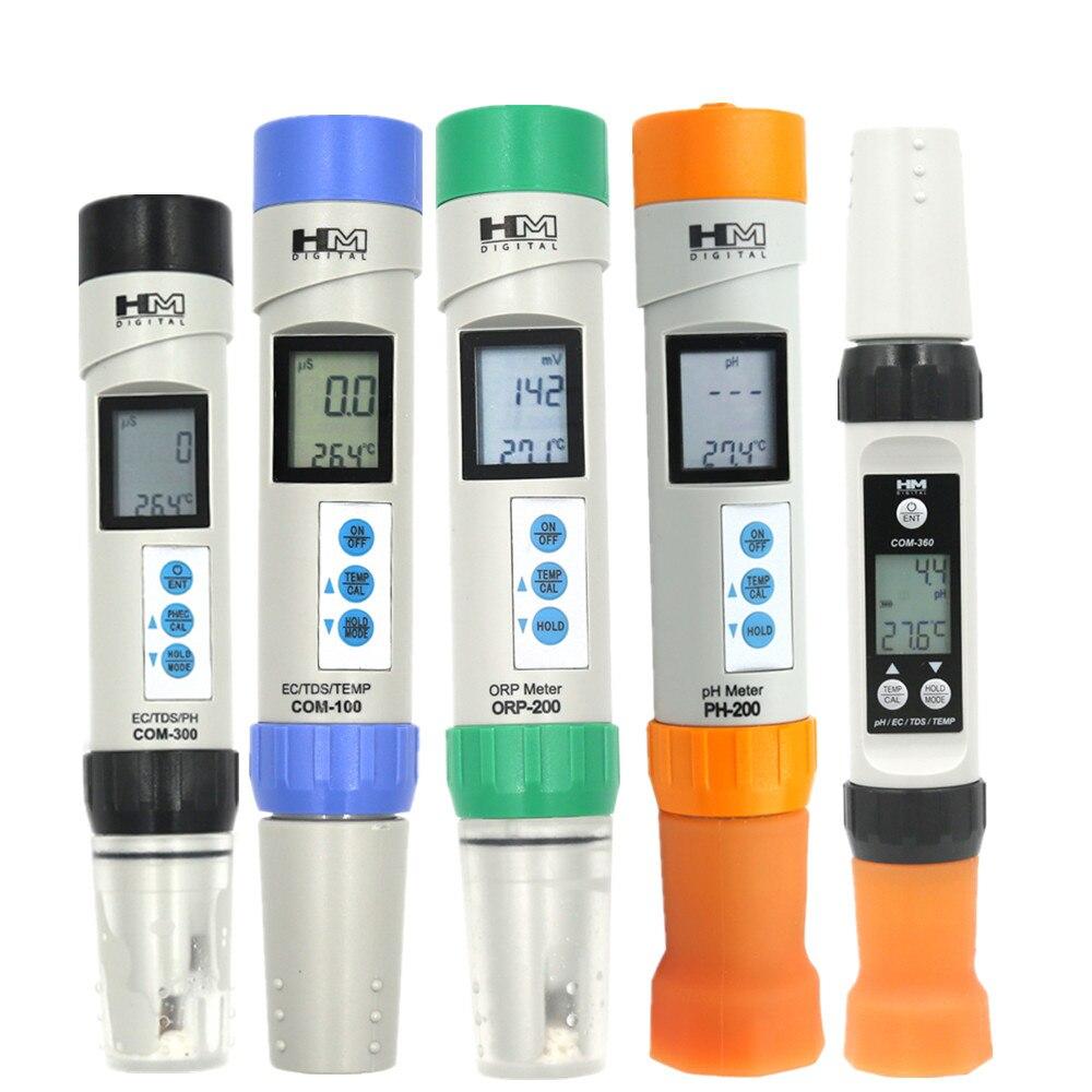 HM 2 في 1/3 في 1 /4 في 1 الرقمية TDS/EC/درجة الحرارة/مقياس درجة الحموضة مراقبة نوعية المياه اختبار أدوات قياس جهاز اختبار مقاوم للماء