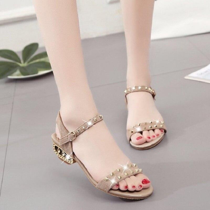 New Women Sandals 2021 Summer Shoes Woman Dress Shoes Bling Weddging Shoes Black High Heels Pumps La