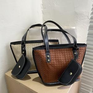Messenger Bag Handbag Shoulder Bucket Bag Simple Fashion Bag 2020 New Tide Autumn Small Bag Handbag Mobile Phone Bag Bucket Type