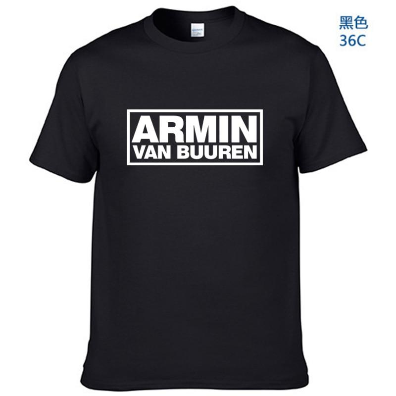 ARMIN VAN BUUREN impreso camiseta para hombre de la música de Asot House de la música de la Rave del DJ camiseta Unisex más tamaño y colores