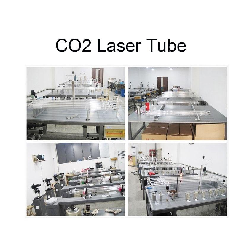 عالية الجودة 50 واط Co2 ليزر أنبوب معدني رئيس 800 مللي متر أنبوب من الزجاج ل CO2 النقش بالليزر آلة قطع