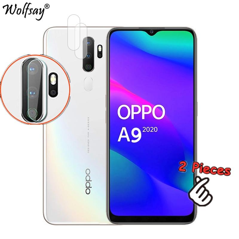 Cristal de Nano cámara para Oppo A9 2020, 2 uds., Protector de pantalla para Oppo A5 2020, cristal templado para Oppo A5 A9