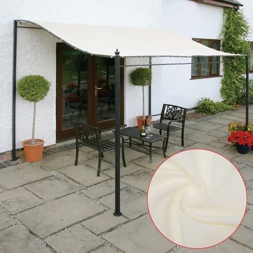 300D قماش مقاوم للماء خيمة غطاء علوي سقف حديقة الرياح المظلة الشمس المأوى الظل المظلة طلاء العريشة مقاوم للماء الشاطئ الخيام