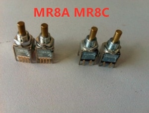 1PC  MR8 MR8A MR8C 12 gear 13pin/5pin 13 feet 5 feet Rotary band switch  Electronic hand wheel dedicated