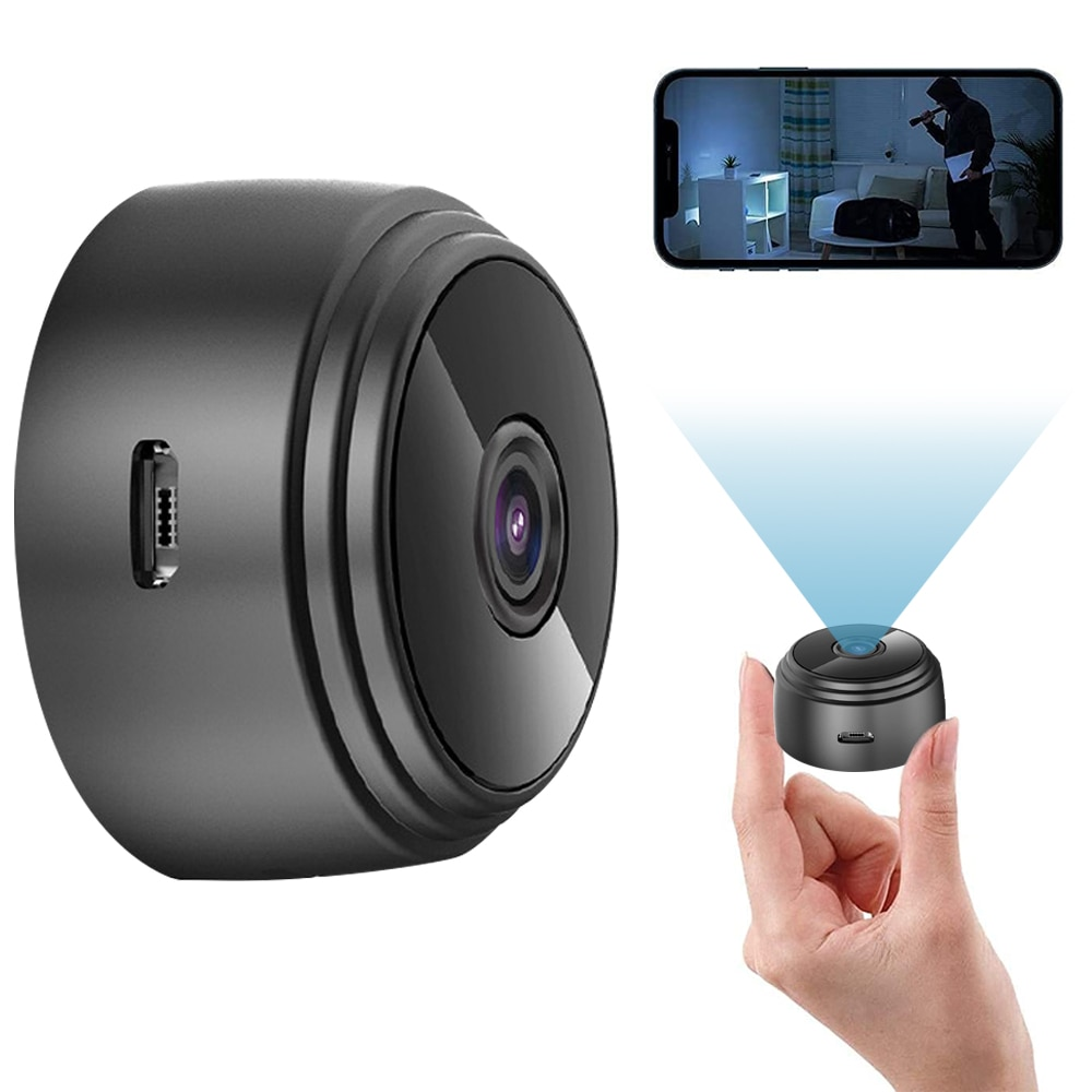 A9 Security Camera HD IR Night Vision 1080P IP Camera Indoor Wifi Wireless Mini Surveillance Home Security Protection Camcorder