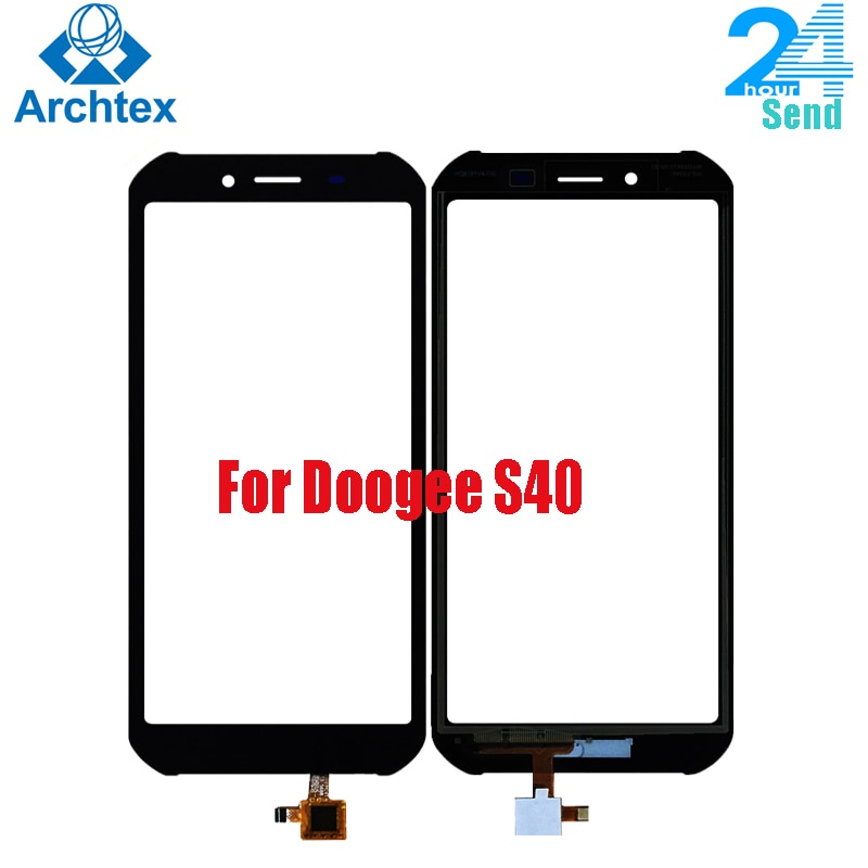 Original Doogee S40 Touch Panel de cristal para pantalla de la lente digitalizador de Sensor para DOOGEE S40 táctil TP + herramientas 100% prueba Stock