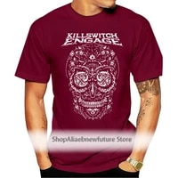 2021 new summer t shirts killswitch engage american metalcore band overcast aftersho t shirt s m l xl 2xl