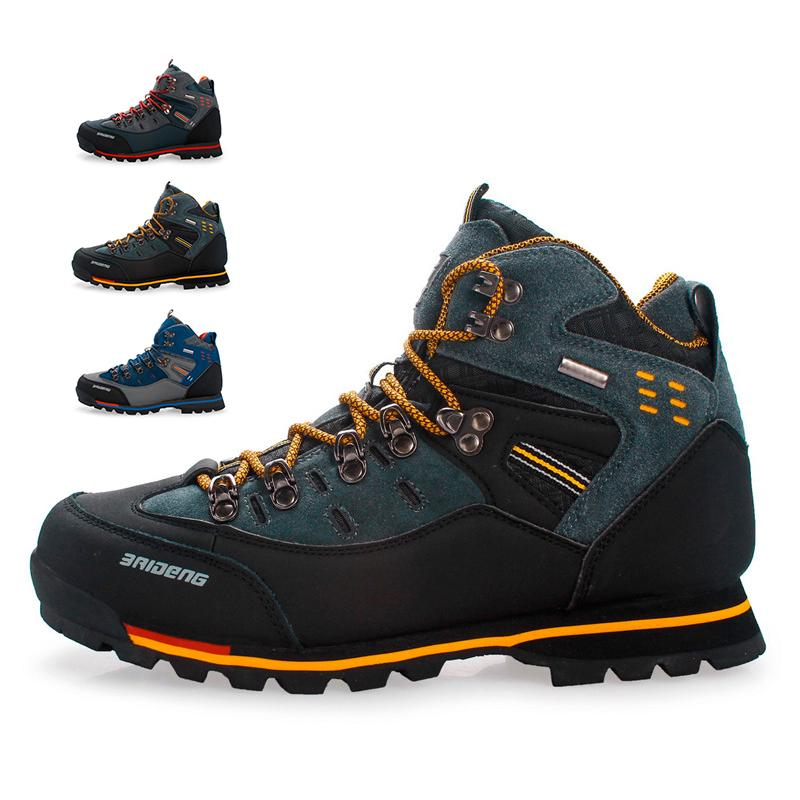 Hiking Shoes Men Winter Mountain Climbing Trekking Boots Top Quality Outdoor Fashion Casual Snow Boo
