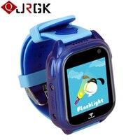 M06 ילדים שעונים שעון חכם עם GPS Tracker תינוק ילד בטיחות Smartwatch עמיד למים ילדי שעונים עבור IOS אנדרואיד