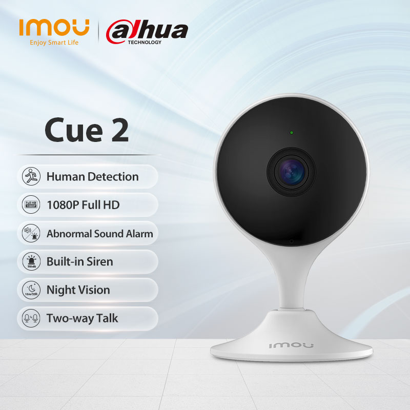 Dahua imou Baby Monitor Cue 2 telecamera IP 1080P telecamera Wifi AI rilevazione umana sicurezza domestica telecamera per visione notturna