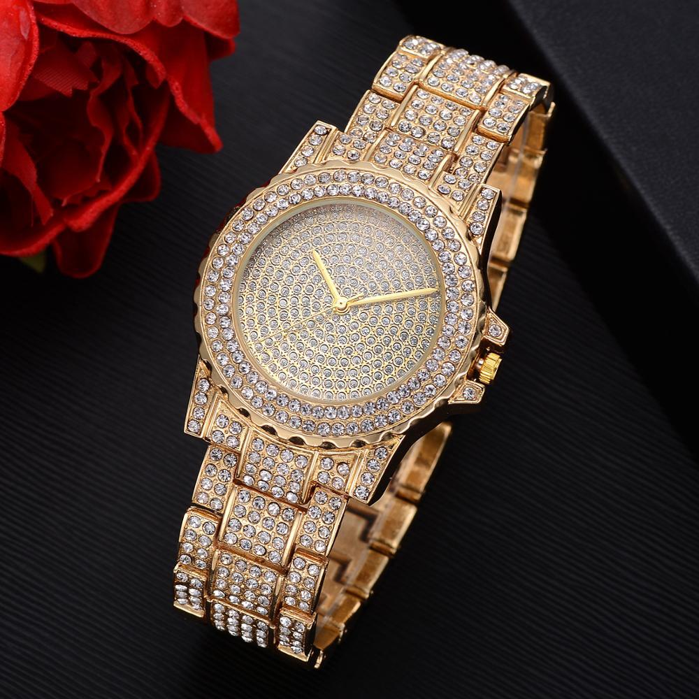 2019 Women Watches Full Diamond Luxury Fashion Ladies Watch For Women Reloj Mujer Female clock Relogio Feminino zegarek damski