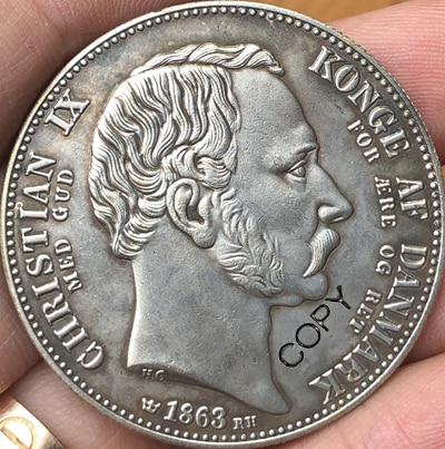 Dänemark 1863 MÜNZE KOPIE