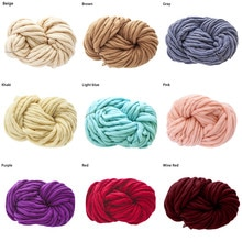 20# Gold Velvet Chenille Medium Thick Wool Thread Diy Crochet Sweater Scarf Line Hand Knitting Scarf Bib Hat Gloves Yarn Crochet