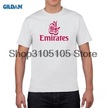 2019 FLY EMIRATES Airlines T-shirt Top Lycra Cotton Men T shirt New Design High Quality Digital Inkjet Printing