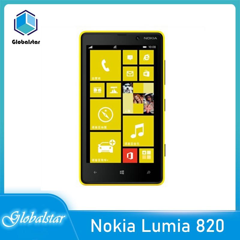 Nokia Lumia 820 reacondicionado Original unlokced Nokia 820 teléfono móvil de buena...