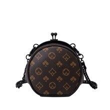 Women Crossbody Bags Brand Designer Clip Bag Ladies Circular Mini Party Evening Clutch Bag Casual Wo