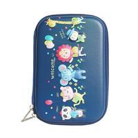 Portable Cartoon EVA Stationery Bag Pupils Pencil Bag Pen Eraser Storage Box Necessary Office Stationery Acceptance Supplies