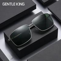 gentle king polarized sunglasses men women driving pilot vintage sun glasses brand designer male black sunglasses for man women